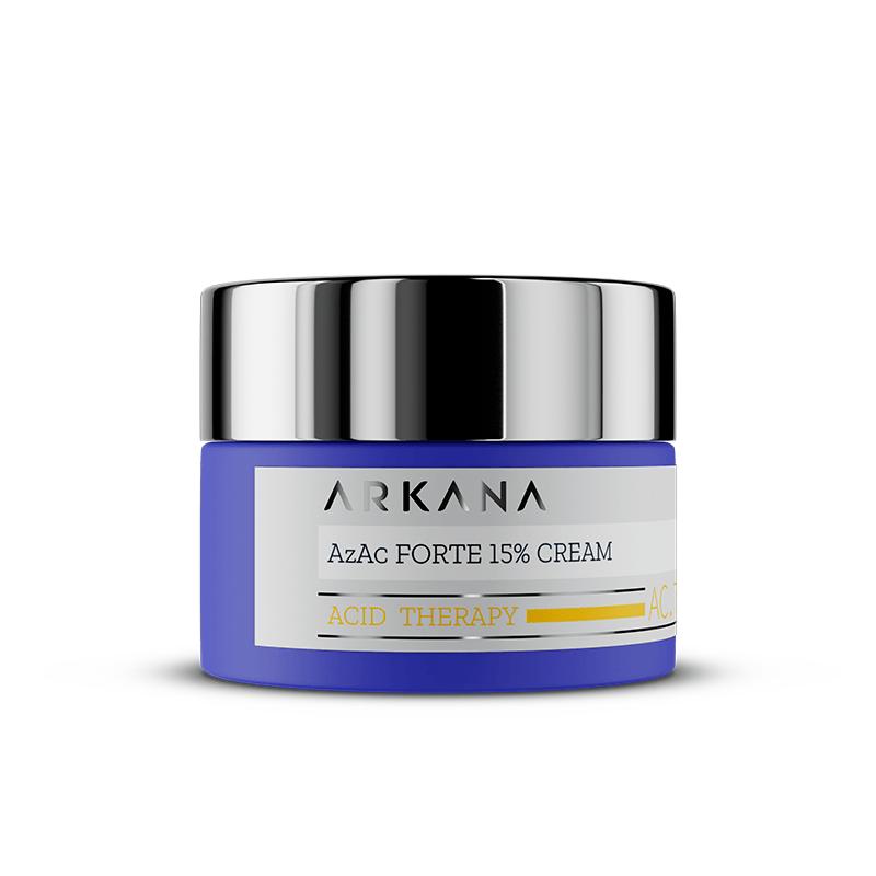 Krem dla skory z tradzikiem zwyklym i rozowatym 50 ml Arkana AzAc Forte 15 Cream Jak prawidłowo pielęgnować cerę tłustą, trądzikową